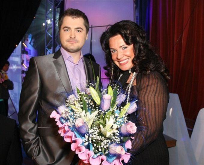 Надежда Бабкина и ее молодой муж