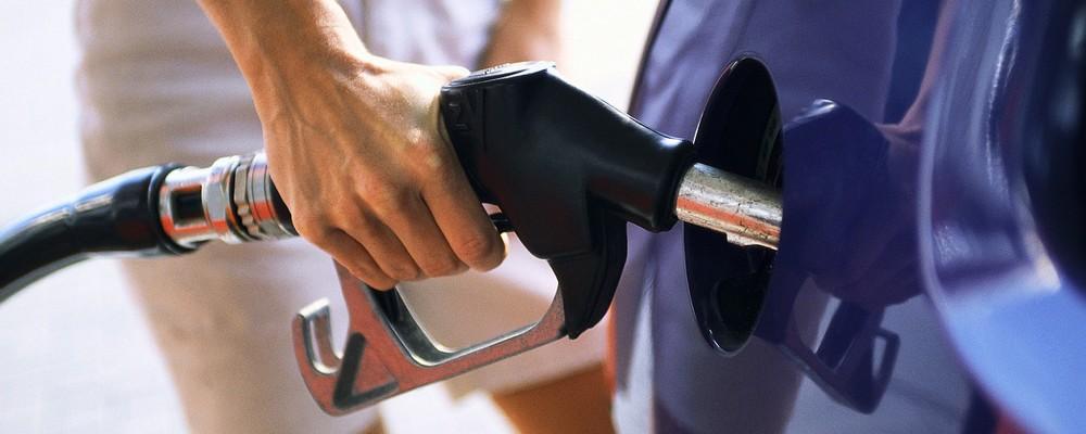 Driver Filling Fuel Tank ca. 1994
