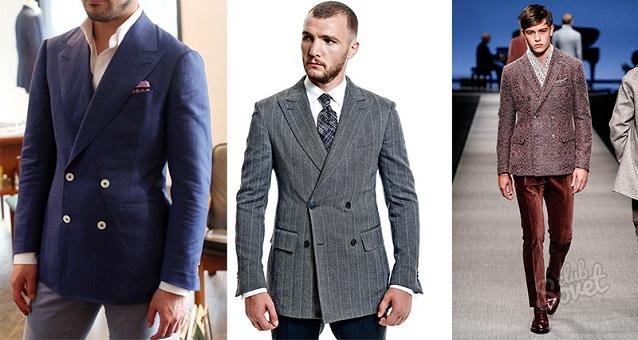 Выбор и покупка пиджака