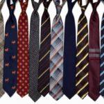 цветные галстуки