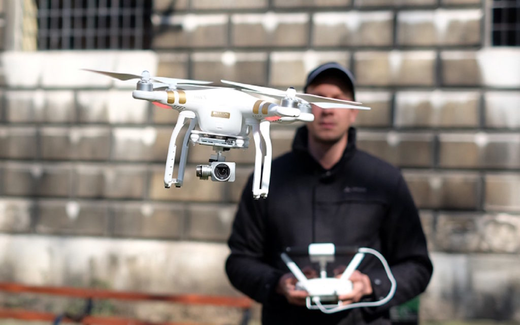 управление квадрокоптером, дроном
