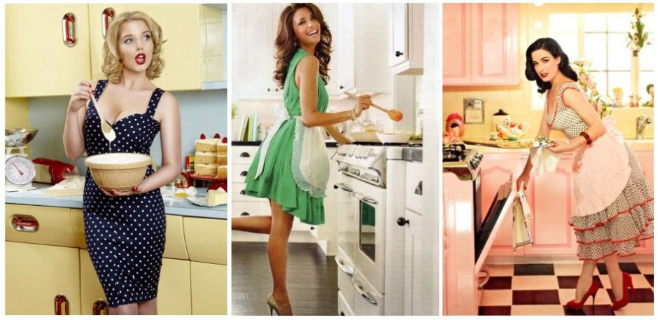 женщина-домохозяйка
