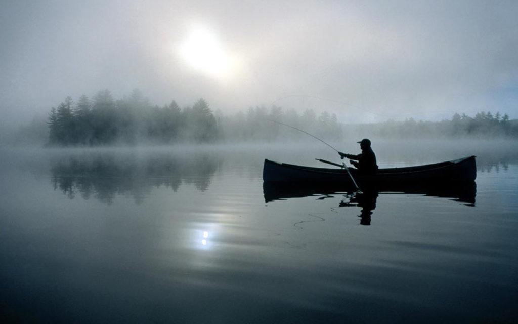за щукой в марте, ловля с лодки
