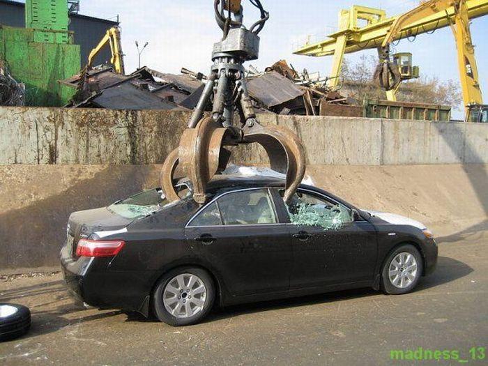 как угробить автомобиль, как убить автомобиль