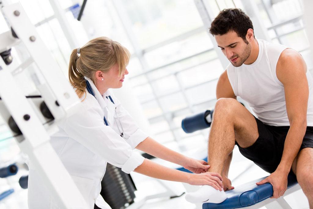 Профессиональные заболевания спортсменов