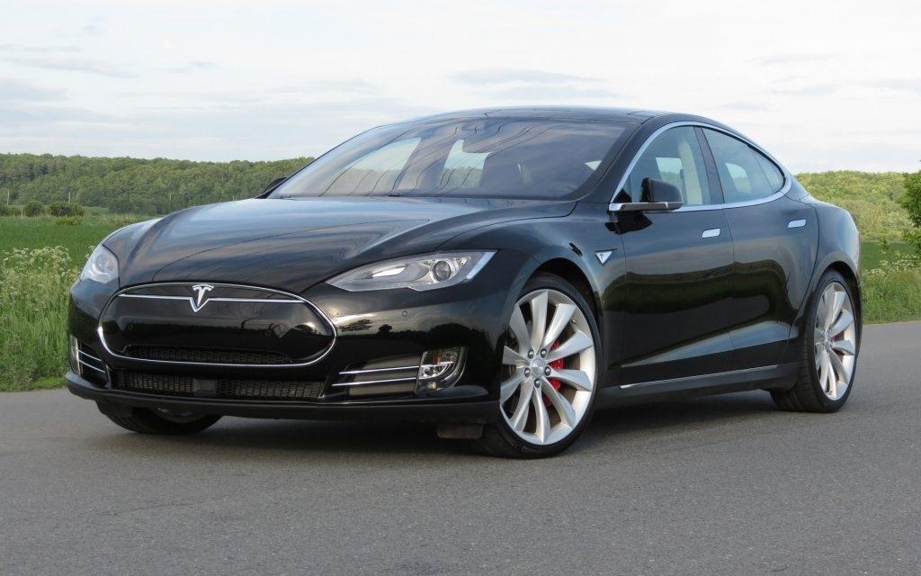 Tesla модели S, самый стильный автомобиль