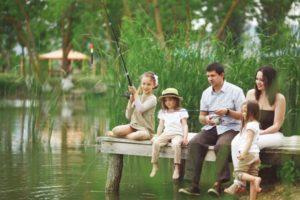 Рыбалка - как семейный курорт