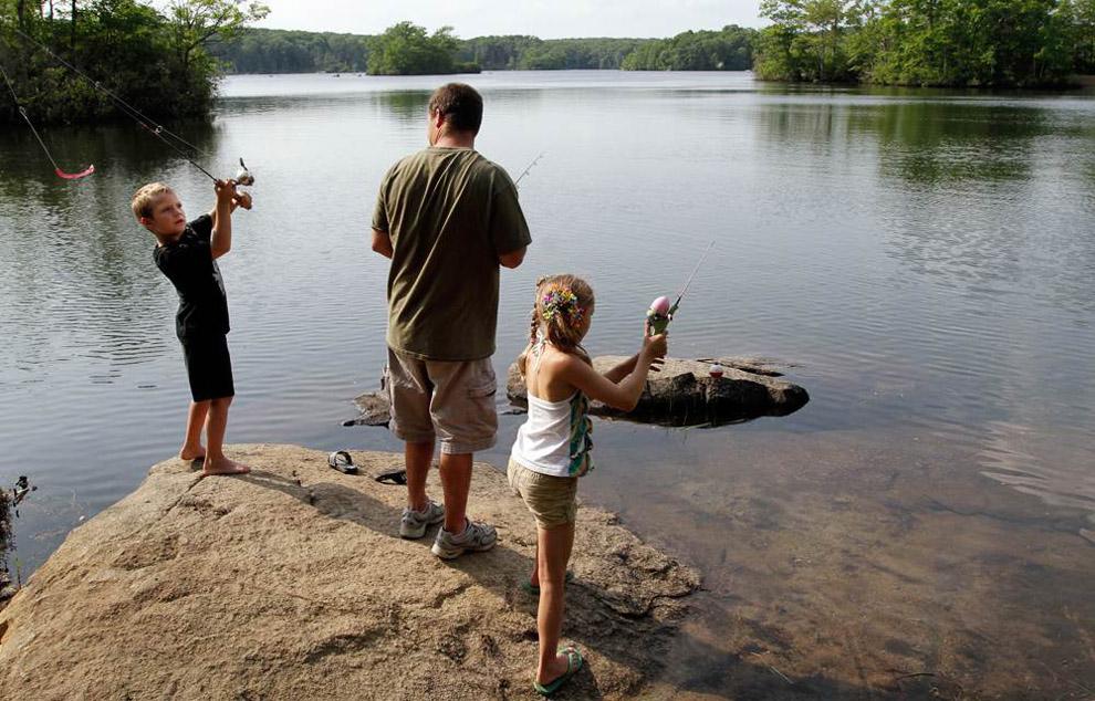 летняя рыбалка фотографии