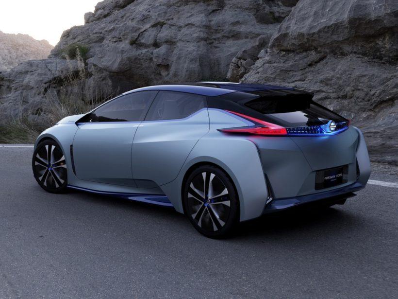 Новый Nissan Leaf 2018