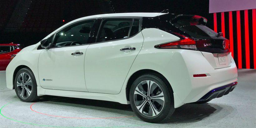 Новый Nissan Leaf 2017/2018