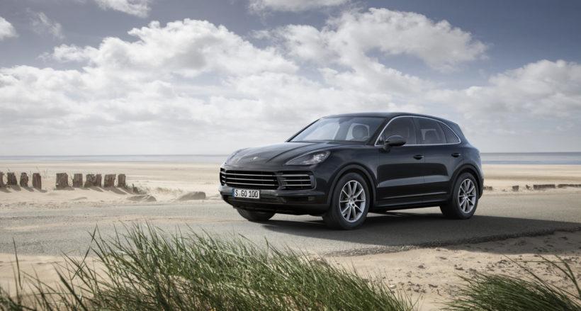 Новый Porsche Cayenne 2017 года