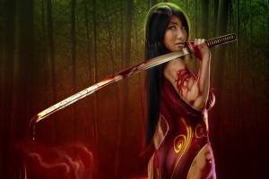 Ножи в древней Азии