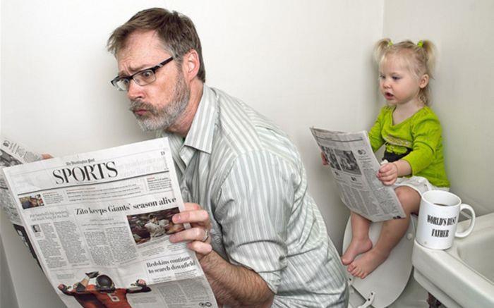 Папино воспитание. Важные моменты в жизни ребенка