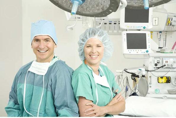Специалисты в области хирургии