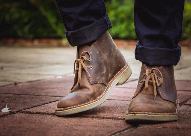Дезерты – модная мужская обувь на весну или лето