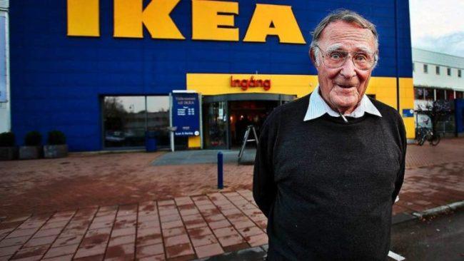 Скончался Ингвар Кампрад – основатель мебельной империи IKEA
