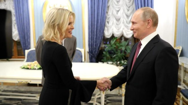 Мегин Келли: «американская девушка» Путина