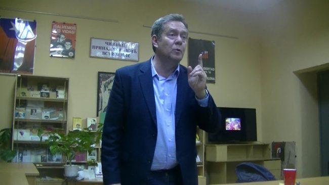 Николай Платошкин - свой среди своих