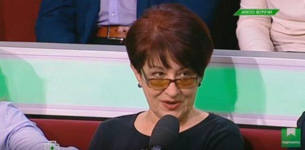 Бойкая Елена Бойко - как язык не только до Киева, но и до Москвы довел!