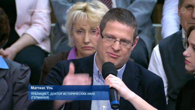 Маттиас Уль: новое немецкое лицо в российском телеящике