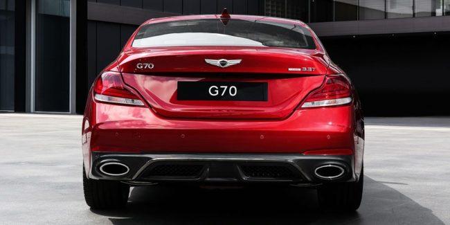 Genesis G70: дерзкий новичок
