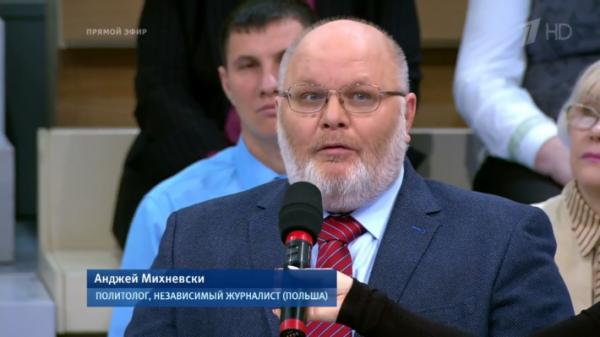 Анджей Михневский: представитель «новой волны» польских политологов на нашем ТВ