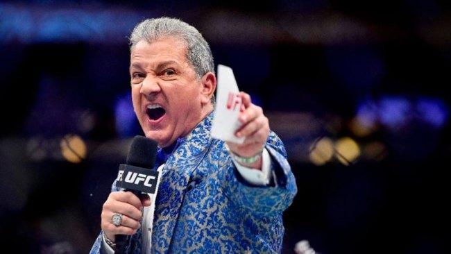 Брюс Баффер - могучий голос UFC