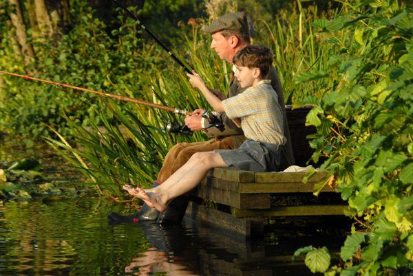 Приучаем ребенка к рыбалке