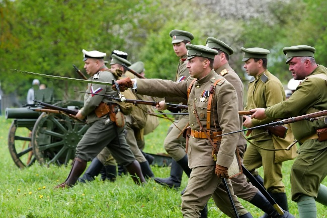 Военно-историческая реконструкция - настоящее мужское хобби