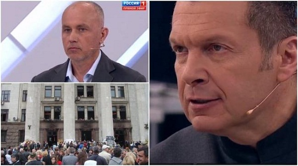 Вадим Чанкин – новое «украинское лицо» на политическом российском телевидении