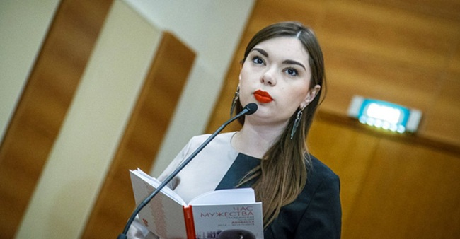 Анна Ревякина: представительница союза правления писателей ДНР в России
