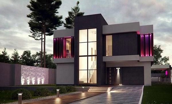 Как построить дом в стиле хай-тек - советы от школы дизайна