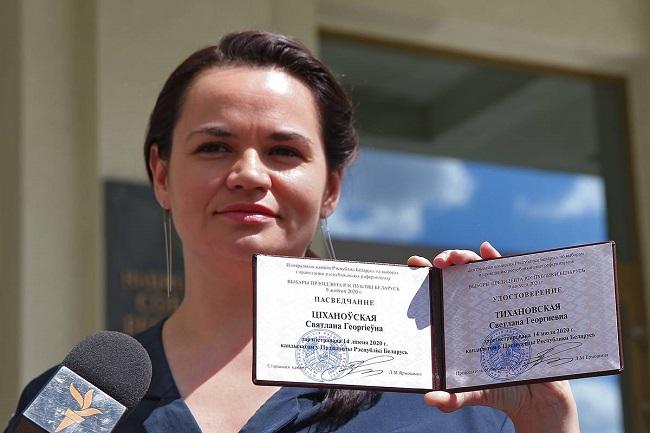 Светлана Тихановская: феномен белорусской домохозяйки