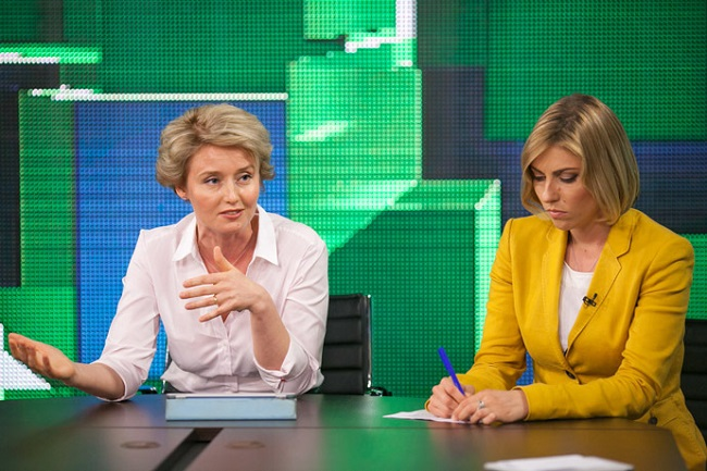 Оксана Бойко: бойкая дивчина из Russia Today