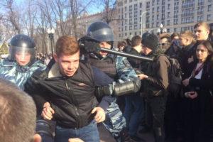 дети, акция, Алексей Навальный, поход детей, 26 марта 2017, Димон ответит